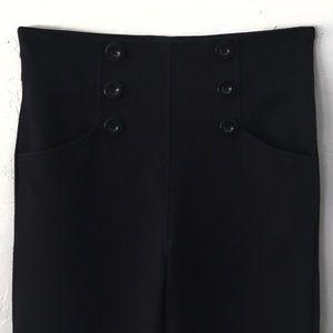 Max Studio Pants - MAX STUDIO LONDON PONTÉ KNIT SAILOR PANTS SZ M